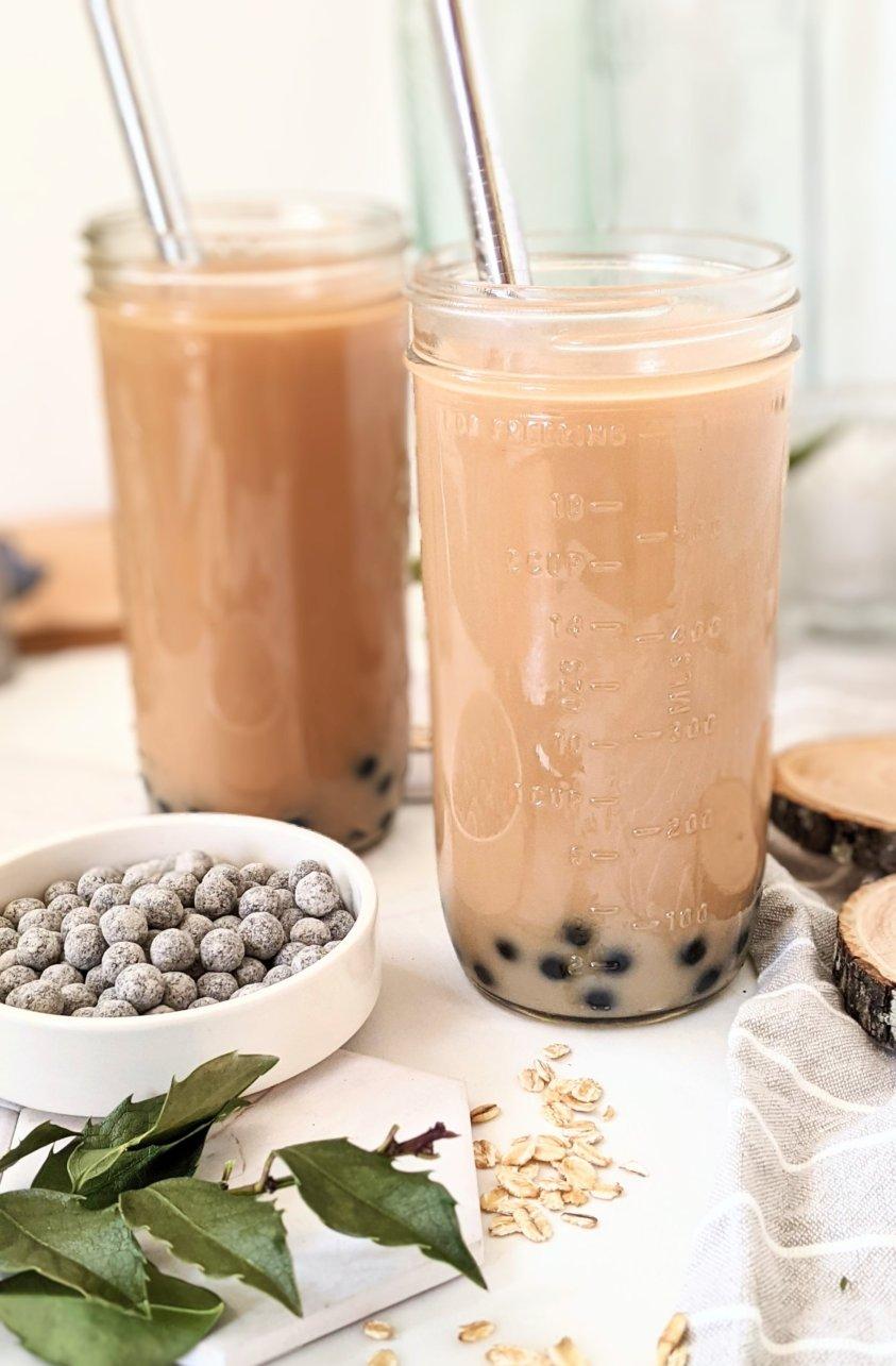 gluten free bubble tea recipe vegan dairy free boba recipe bubble tea no gluten healthy bubble tea low calories