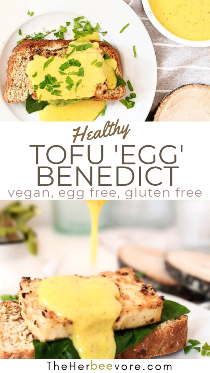 tofu eggs benedict recipe vegan gluten free plant based mothers day brunch recipes healthy homemade brunches for mom