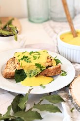 dairy free eggs benedict vegan gluten free eggless eggs benedict recipe no eggs