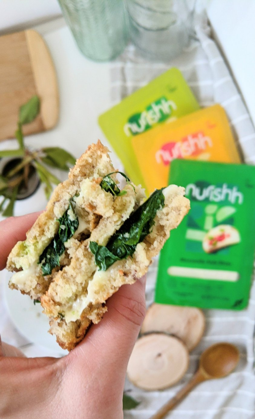 melty vegan grilled cheese that melts plant based cheese grilled cheese vegan gluten free healthy nurishh mozzarella cheese recipes