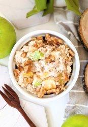 apple mango overnight oats recipe dairy free gluten free vegetarian healthy no cook oats