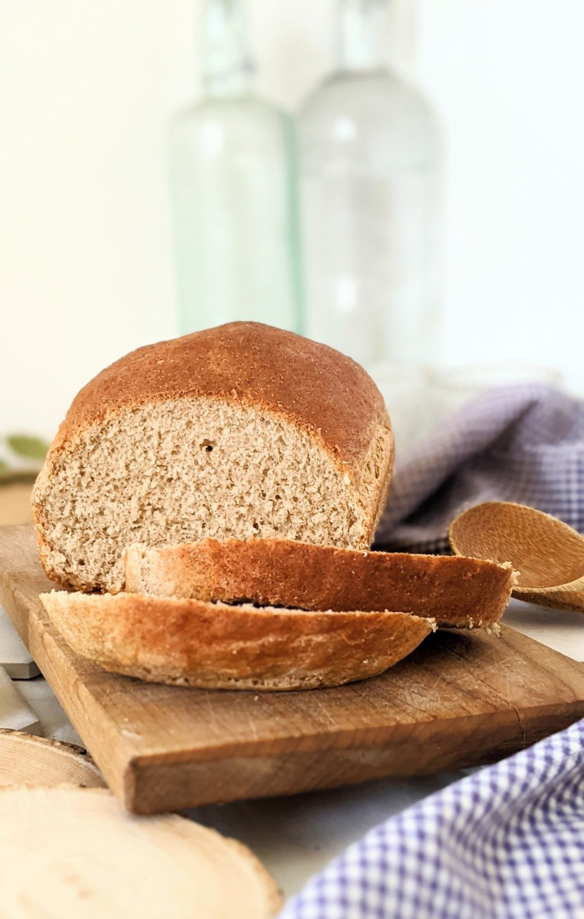 vegan wholemeal sandwich bread recipe with wheat flour breads easy healthy wheat bread at home 5 ingredient wheat bread simple whole grain bread recipe vegan egg free dairy free bread recipes