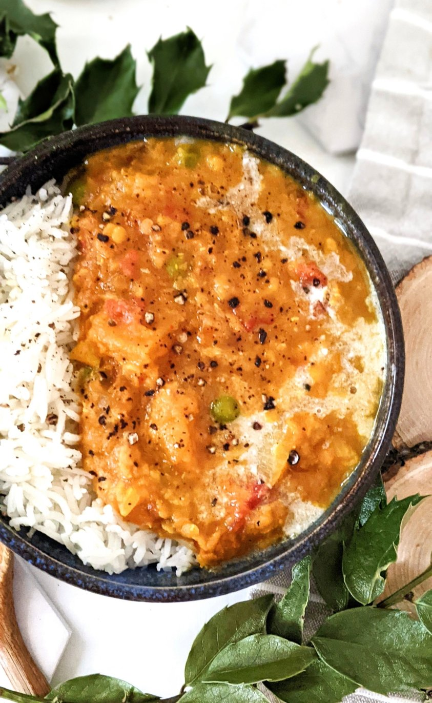 vegan butternut squash red lentil dahl recipe easy homemade dahl dairy free with frozen butternut squash recipes from the freezer ingredients indian food gluten free