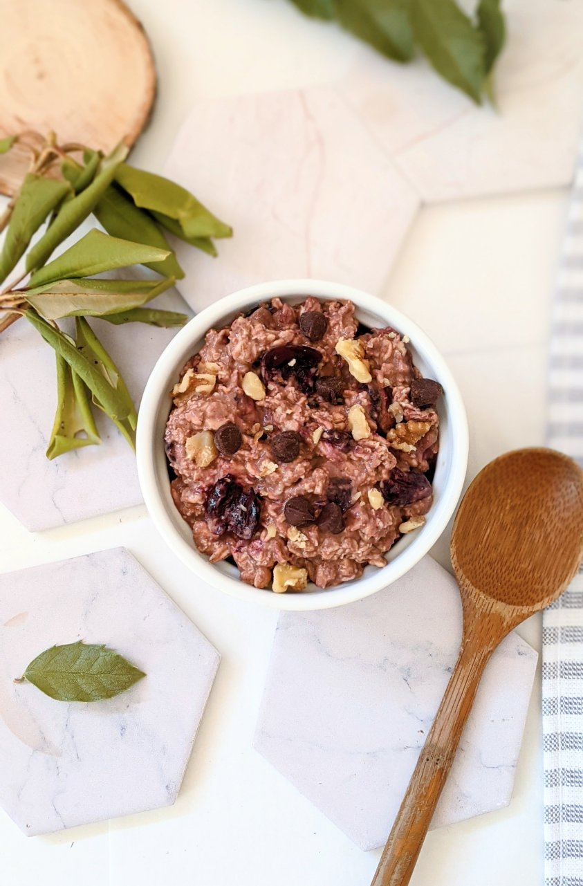 vegan high fiber breakfast recipes with cherries and chocolate brunch ideas fancy oatmeal recipes no cook summer breakfasts for kids on the go recipes for breakfast for school grab and go breakfasts