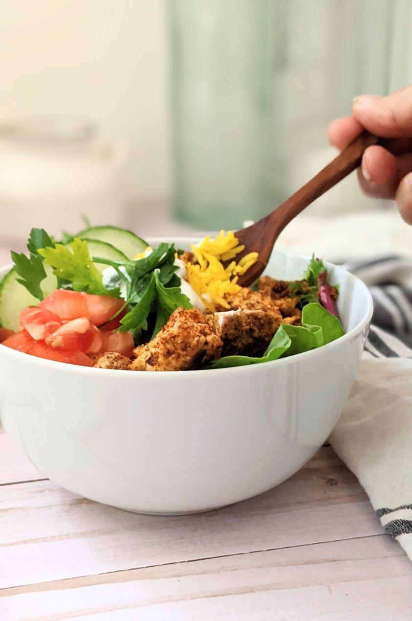easy plant based shawarma bowls with tofu recipes gluten free shwarma vegan salad bowls with crispy baked tofu easy healthy canadian shawarma recipes vegan