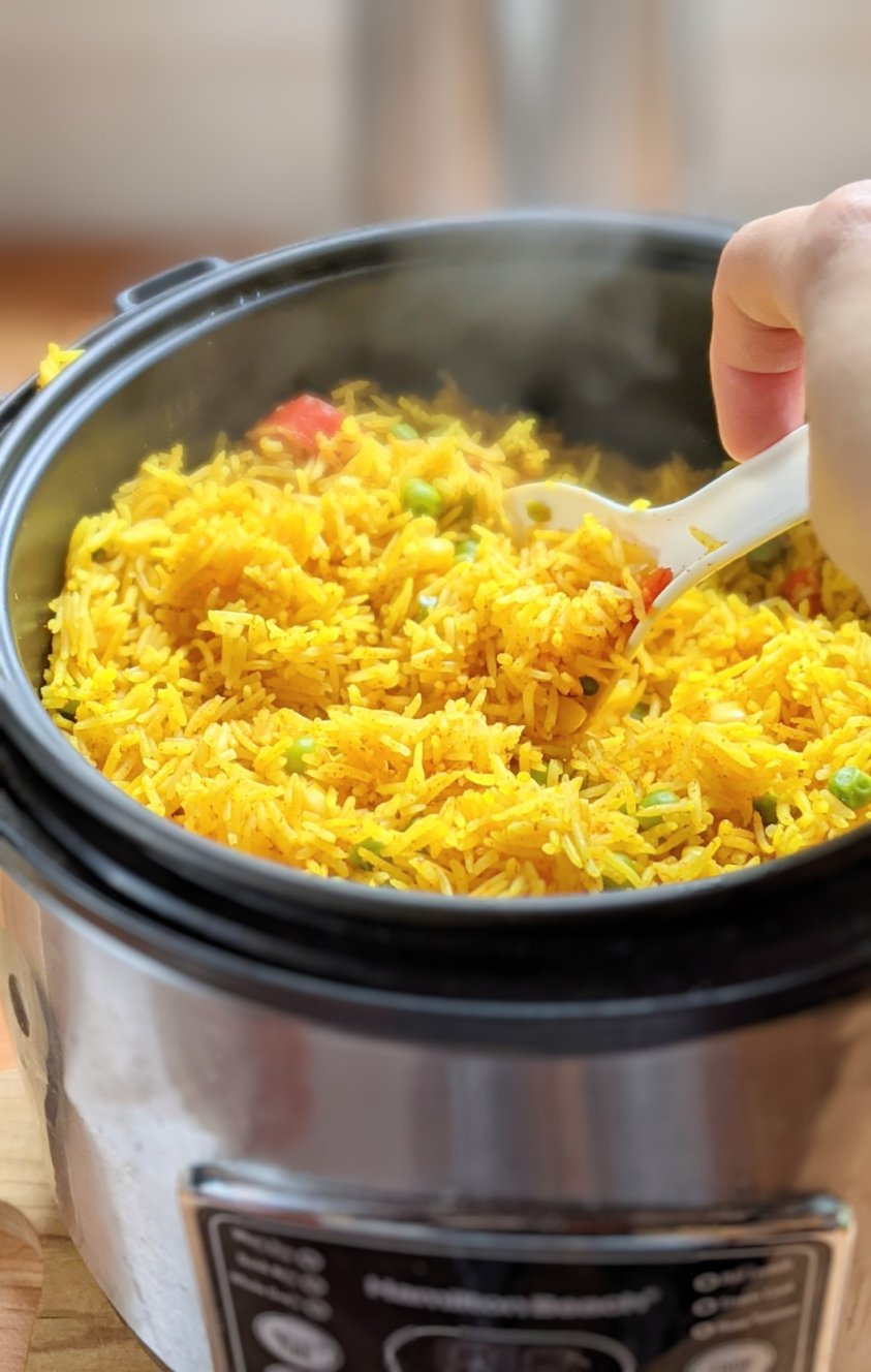 make yellow rice in the rice cooker recipe for spanish rice one pot rice cooker recipes mediterranean rice or greek rice, great middle eastern yellow rice for shawarmas made with turmeric not saffron