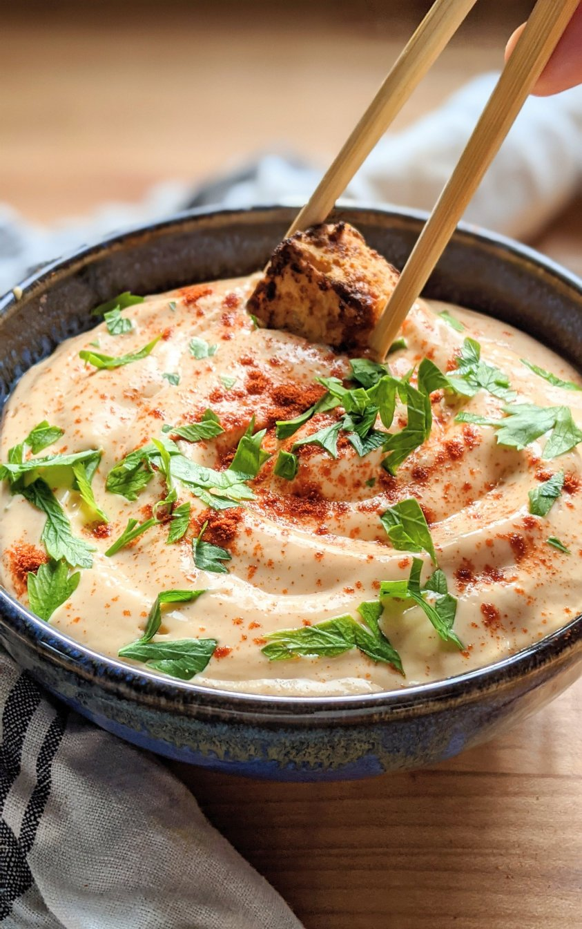 vegan bang bang sauce dairy free gluten free plant based yum yum sauce healthy what is boom boom sauce made out of recipe easy tofu sauces silken tofu sauce for sushi buddha bowls or crispy tofu