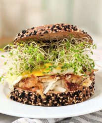 hash brown breakfast sandwich vegan and gluten free options healthy plant based weekend brunch ideas and recipes