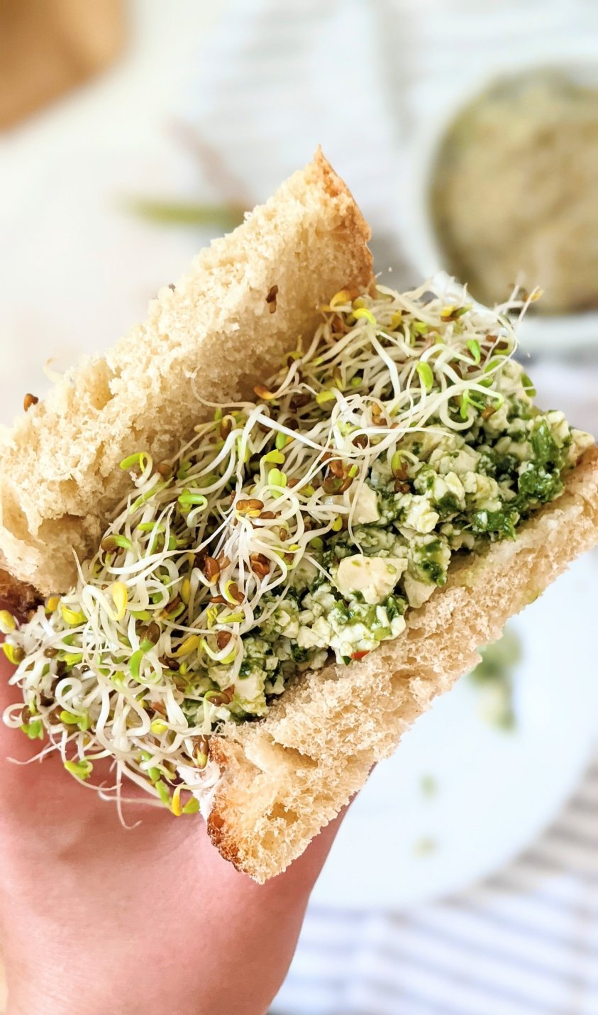 no cook pesto sandwich recipe summer sandwiches vegan gluten free plant based lunches for hot days