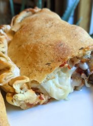 grilled calzone recipe vegetarian grilling recipes grilled calzones on a pizza stone big green egg calzones