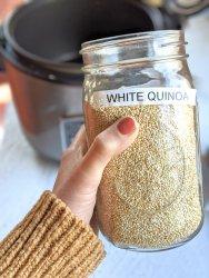 how to cook quinoa in a rice cooker steamed quinoa recipe in rice steamer perfect fluffy quinoa every time foolproof one pot quinoa recipe for white quinoa or red quinoa