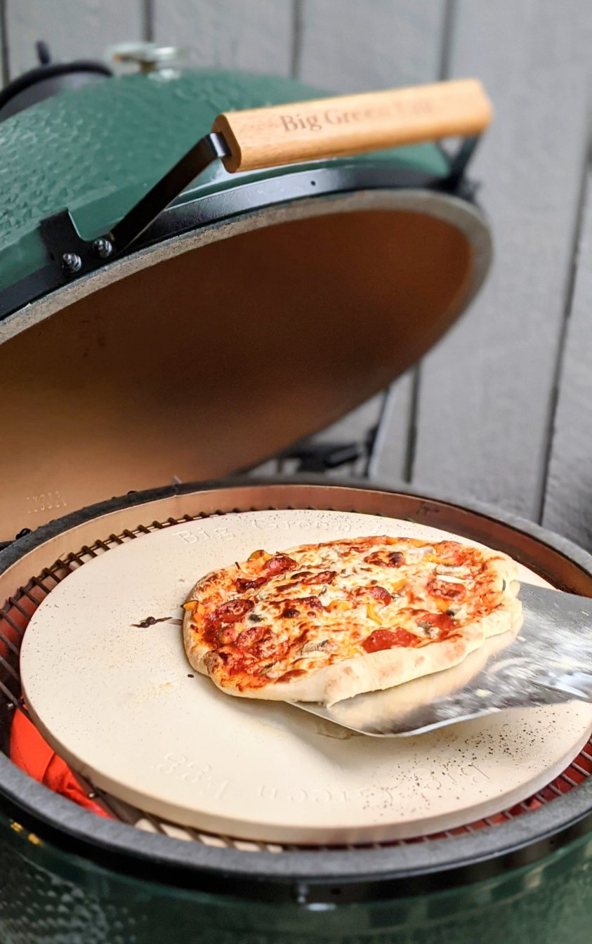 big green egg grilled pizza recipe the best grilled pizza dough recipe for ceramic grills garlic and herb pizza dough vegetarian grilling recipes vegan egg free dairy free wood fire grilled pizza dough for the pizza stone