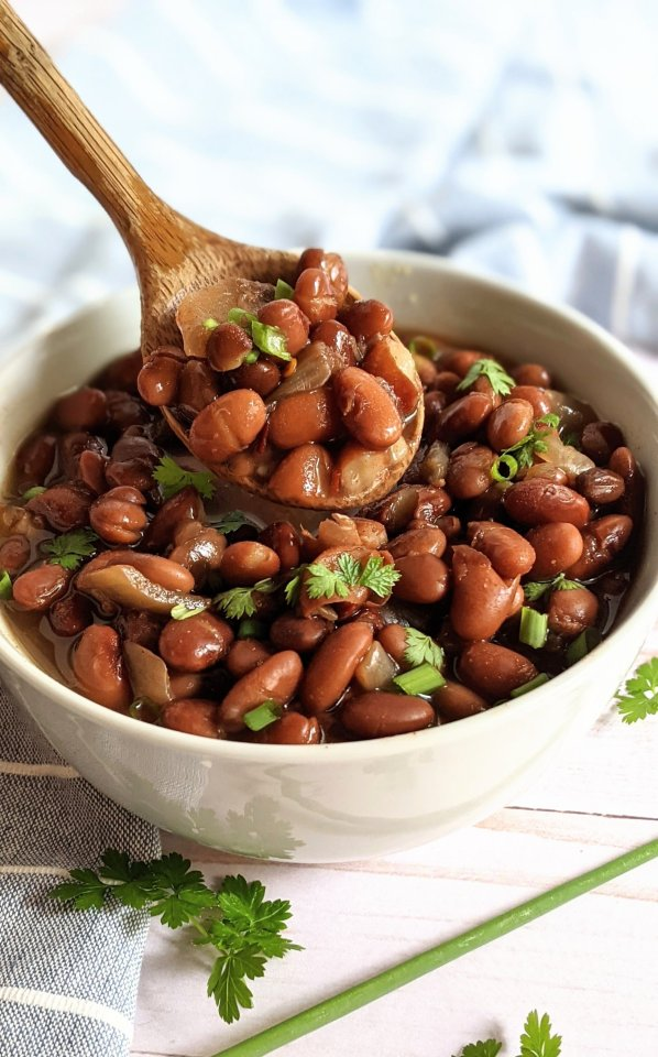 low sodium beans recipe no salt pressure cooker recipes in the instant pot pinto beans without salt beans reicpes meal prep and no salt make ahead dinners spicy mexican beans without salt