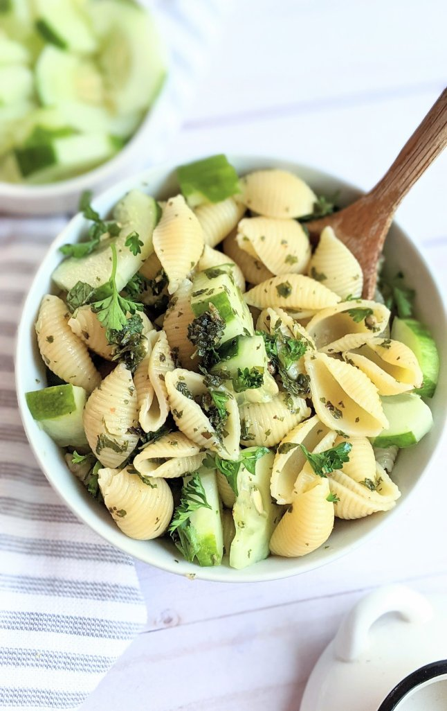cucumber mint pasta salad recipe gluten free vegan mint pasta recipes with cucumber herby pasta salad healthy bright and fresh recipes with mint savory mint recipes mint salad