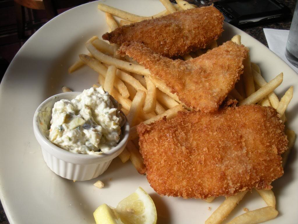 fish and chips with homemade tartar sauce the heritage cook. Black Bedroom Furniture Sets. Home Design Ideas