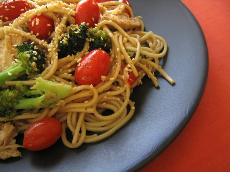 how to make sesame sauce pasta