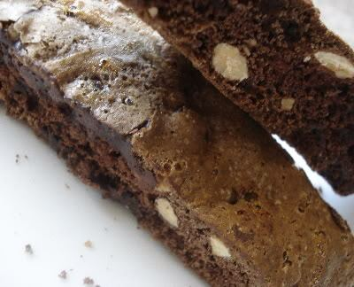 Chocolate Biscotti for Chocolate Monday!