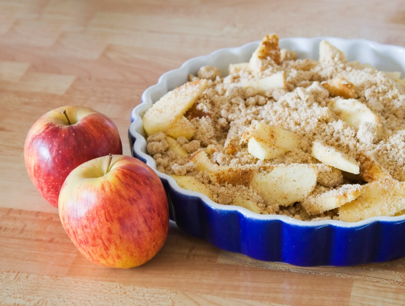 how to make apple crisp with apple pie filling