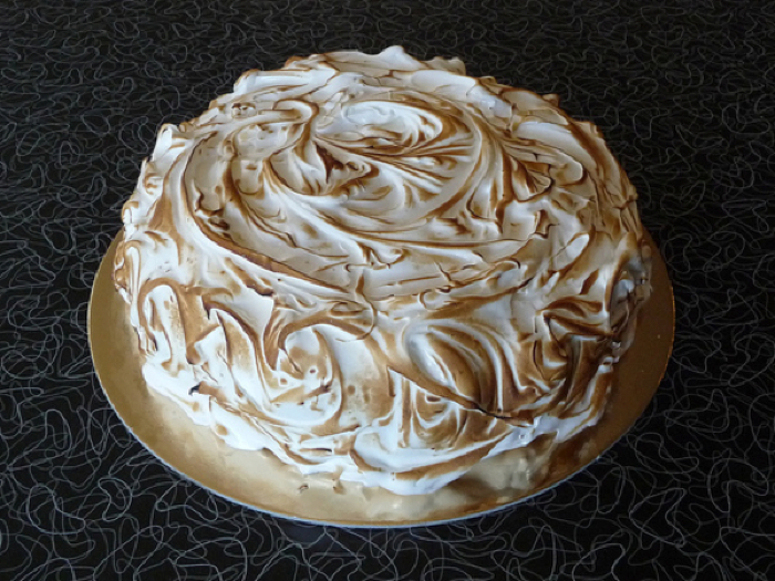 Chocolate Layer Cake with Malted Ganache Filling and ...