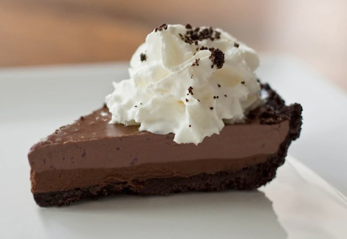 Double Chocolate Mousse Mud Pie For Chocolate Monday