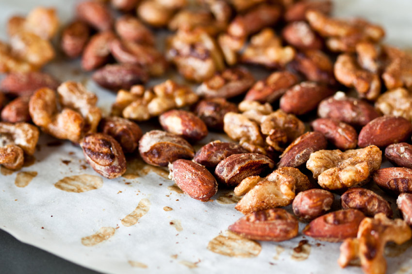Spiced Nuts - healthy and tasty. Courtesy: TheHeritageCook.com
