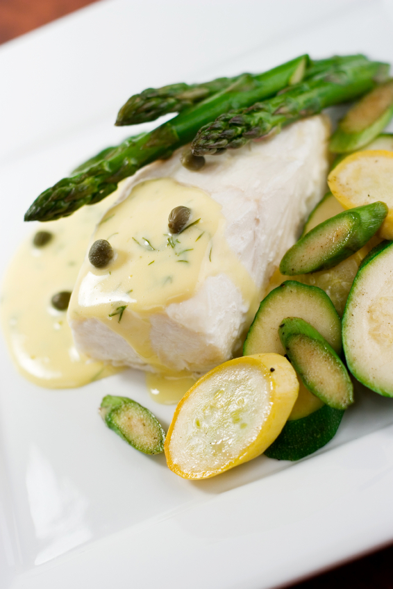 Petrale Sole With Meyer Lemon Beurre Blanc Sauce The