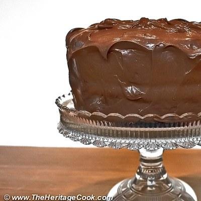 Dark Chocolate Layer Cake and My Favorite Baking Ingredients