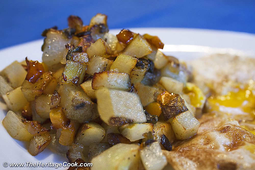 Home Fries-Herbivoracious copyright Jane Bonacci, The Heritage Cook