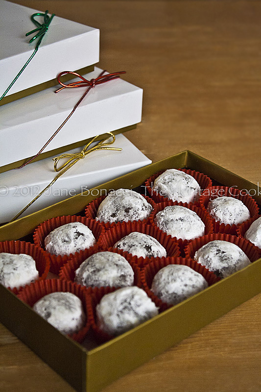 Bourbon Balls ready for delivery