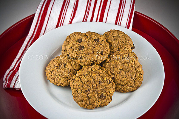 Browned Butter-Choc Chip Cookies copyright 2013 Jane Evans Bonacci, The Heritage Cook