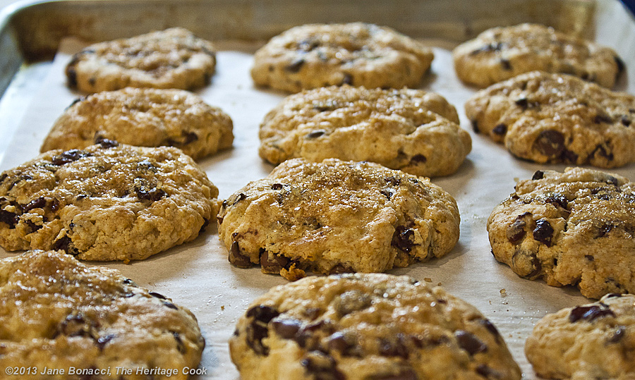 Chocolate Chip-Cherry Scones straight from the oven