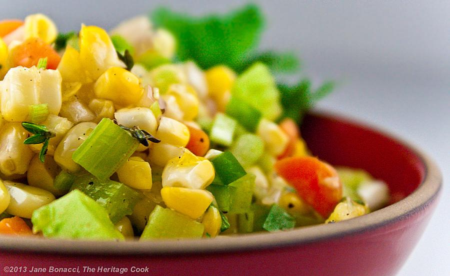 Fresh Corn & Tomato Salad