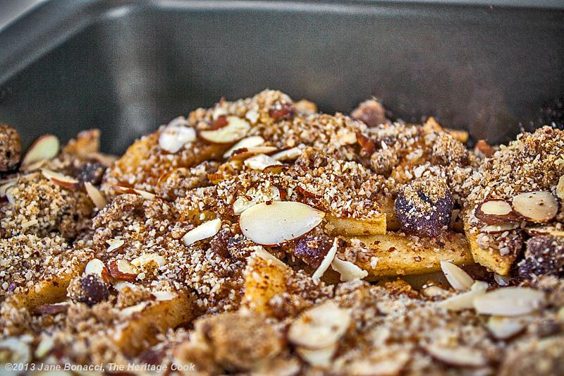 Gluten-Free Apple Crisp; 2013 The Heritage Cook