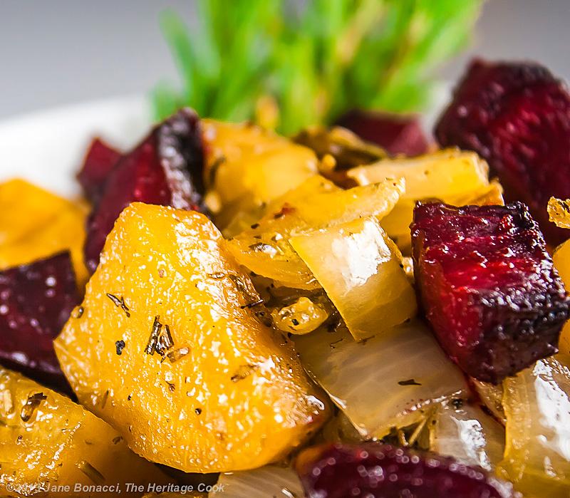 Roasted Beets, Potatoes & Poblanos #SummerFest