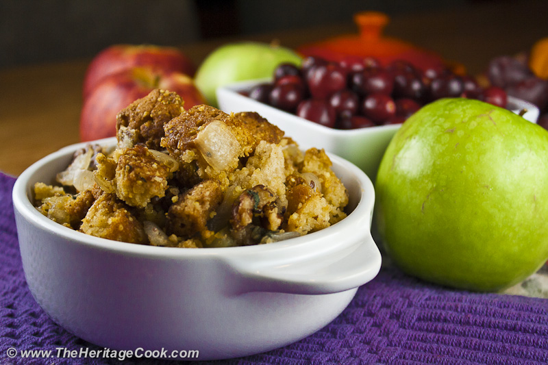 Gluten-Free Thanksgiving Cornbread Dressing