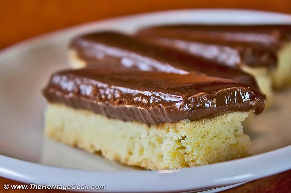 Chocolate Caramel Cookie Bars; 2014 Jane Bonacci, The Heritage Cook