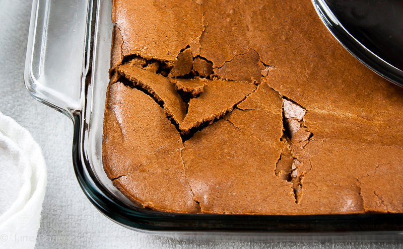 Brownie Pudding for Valentine's Day; 2014 Jane Bonacci, The Heritage Cook