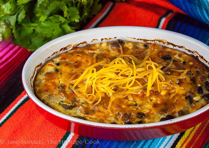 Chile Relleno Casserole; 2014 Jane Bonacci, The Heritage Cook