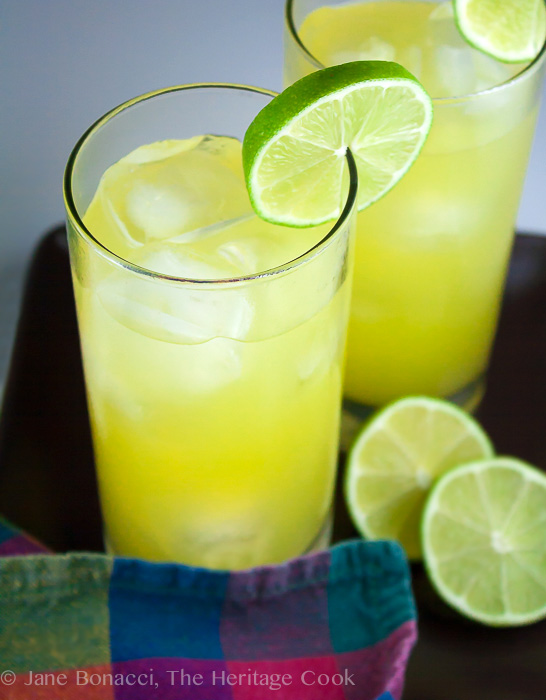 Summer Lime Coolers; 2014 Jane Bonacci, The Heritage Cook