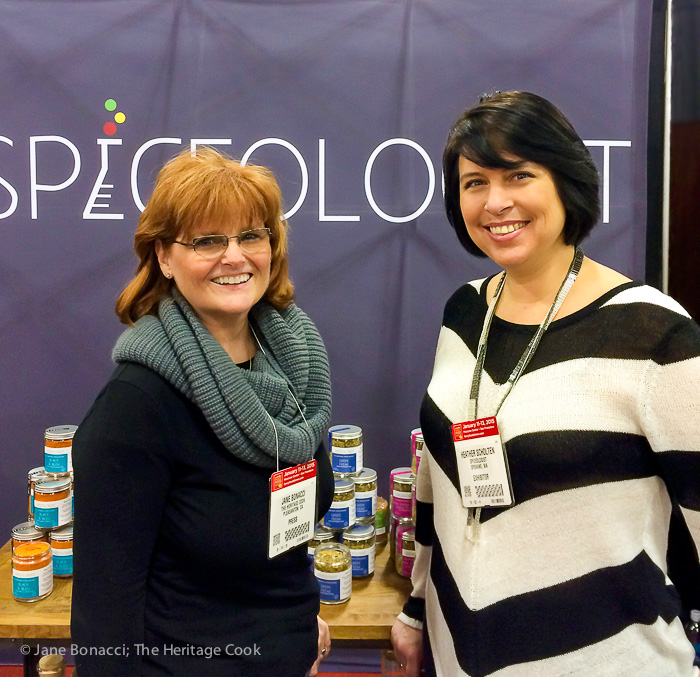 Friends at the Fancy Foods Show 2015; Spiceologist with Heather