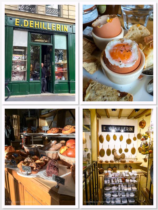 Chocolate Pot de Crème & Paris Tales; 2015 Jane Bonacci, The Heritage Cook