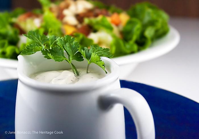 Chopped Steakhouse Style Salad; 2015 Jane Bonacci, The Heritage Cook