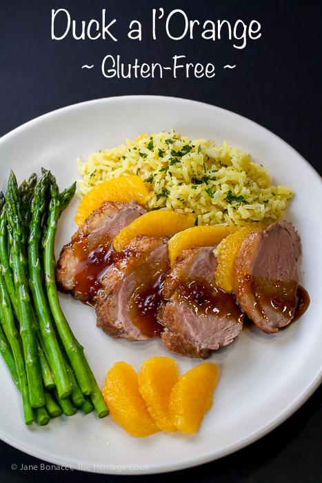 Duck a l'Orange & Memories of Paris; 2015 Jane Bonacci, The Heritage Cook