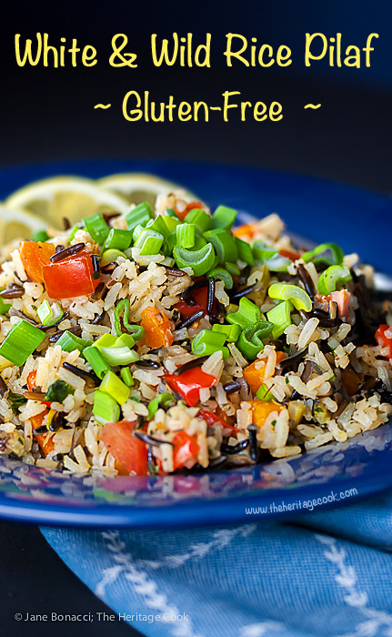 White and wild rice pilaf sensationalsides the heritage cook white wild rice pilaf 2015 jane bonacci the heritage cook forumfinder
