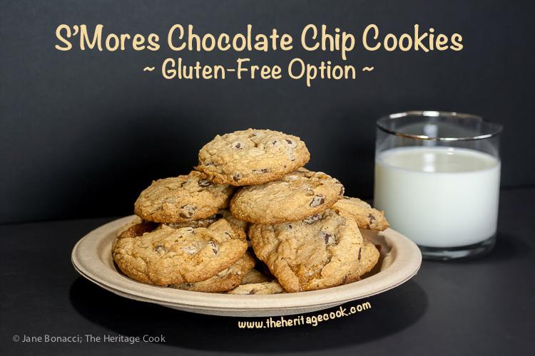 SMores Chocolate Chip Cookies SRC Gluten Free Option 2015 Jane