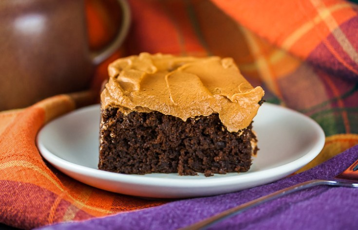 Chocolate Pumpkin Cake (Gluten-Free)