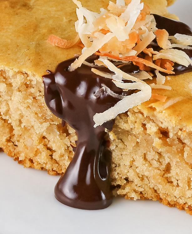 Extra chocolate sauce is decadent & deserved! Chocolate Walnut Olive Oil Skillet Cookie Gluten Free Paleo SRC; © 2016 Jane Bonacci, The Heritage Cook
