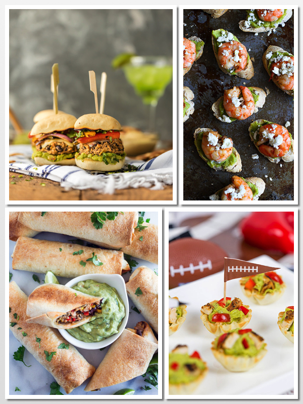 Collection of Super Appetizers for Super Bowl Sunday with Sabra products; © 2016 Jane Bonacci, The Heritage Cook