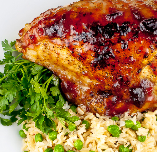 Gluten-Free Roasted Chicken with Ginger-Plum Sauce • The ...