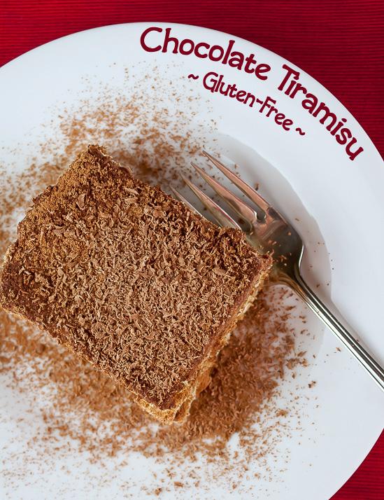 Gluten-Free Chocolate Tiramisu; © 2016 Jane Bonacci, The Heritage Cook